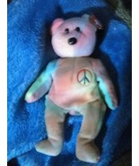 Extremely-Rare-Errors-Ty-Beanie-Babies-Peace-Bear-with-Tag-retired-Mint ... - $9,999.00
