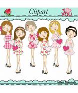 Miss Valentines Clip Art - $1.35