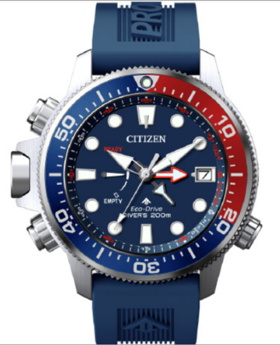 Authentic Citizen EcoDrive Men Promaster Aqualand Polyurethane Watch BN2038-01L