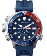 Authentic Citizen EcoDrive Men Promaster Aqualand Polyurethane Watch BN2... - $370.24