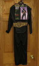 Childrens Halloween Costume Deluxe Muscle Ninja One Size Fits Most 3 Pc NEW - $12.86