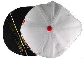 Dissizit! Side Bear White Black Brim Snapback Cap Hat California Star Flag image 6