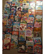 Lot of 50 DVD Movies Children Cartoon Elmo Dora Despicable2 Wiggles Lilo Stitch - $96.99