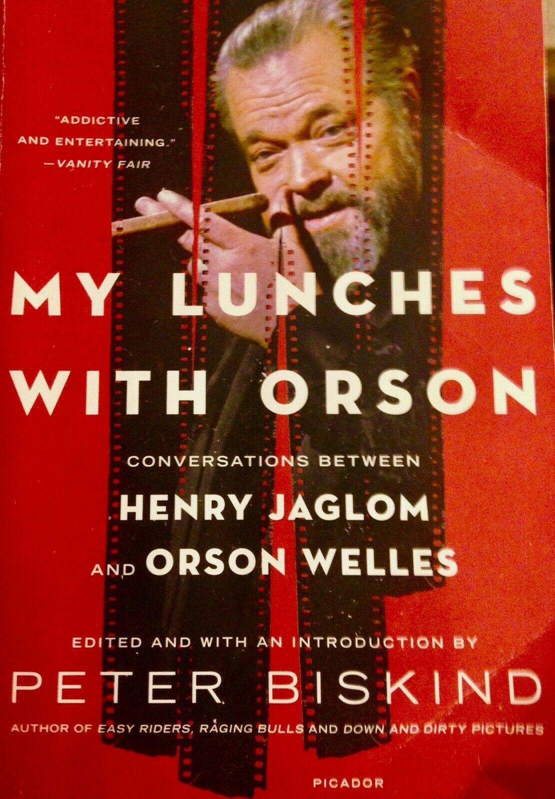 Primary image for My Lunches with Orson: Conversations between Henry Jaglom and Orson Welles VG