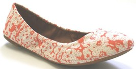 Women's Shoes Lucky Brand EMMIE Ballerinas Flats Slip On Floral Patern C... - $40.49