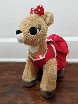 """Build A Bear Clarice Rudolph Red Nosed Reindeer Light up Talking 16"""" Plush - $16.92"""