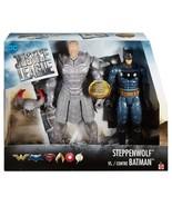 DC Comics Justice League Movie Batman vs Steppenwolf Figures Box Toys Ki... - $31.58
