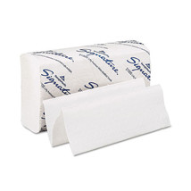 9 1/5 x 9 2/5 White 2Ply Multifold Paper Towels/Case of 2000 - $75.74