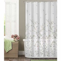 MAYTEX Dragonfly Garden Semi Sheer Fabric Shower Curtain - $22.45