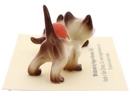 Hagen-Renaker Miniature Cat Figurine Siamese Kittens 2 Piece Set Chocolate Point image 4
