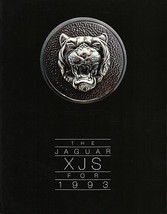 1993 Jaguar XJS V12 sales brochure catalog US 93 S-TYPE - $15.00