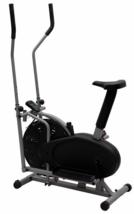 Elliptical Bike 2 IN 1 Cross Trainer Exercise Fitness Machine Gym Workou... - $61.95