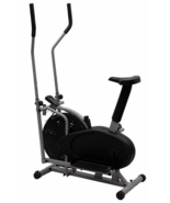 Elliptical Bike 2 IN 1 Cross Trainer Exercise Fitness Machine Gym Workou... - $61.95