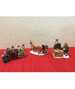 Dept 56 Heritage Village 2 Piece Sets Carolers #6526-9 and  Blacksmith  ... - $30.00