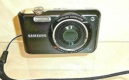 Samsung SL600 Digital Camera 12.2MP 5x Zoom w/ Battery - DARK BLUE Teste... - $9.49