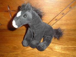 K&M Wild Republic Black Horse Stuffed Plush - $67.50