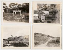 WWII Okinawa Photos, Shinto Shrine, Taken By US Army Veteran MSgt. J.E. Chambers - $20.00