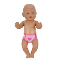 New Leisure diapers Wear for 43cm Zapf Baby Born Doll clothes, Children ... - $7.35