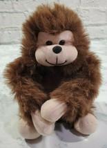 Unipak Plush Monkey Brown 8 Inch Sticky Hands Kids Gift Toy Stuffed Animal - $14.75