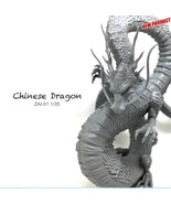 Miniature 1/35 Resin Model Loong Chinese Dragon 90mm Dragon Figure Kit Z... - $62.00