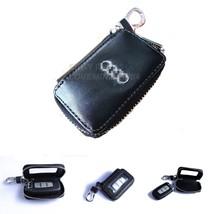 A.U.D.I_SW AUTO CAR SMART REMOTE CTRL KEYCHAIN POUCH HOLDER BAG CASE WAL... - $29.90