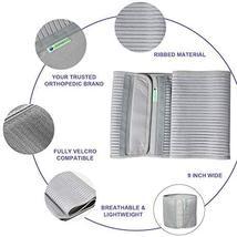 JOMECA Plus Size Bariatric Abdominal Binder, Hernia Support Compression Belt, St image 4