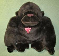 "17"" Dakin Vintage Tsuruya Gorilla Stuffed Animal With Plastic Tag 1988 Brown Ape - $28.71"