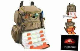 Wild River by CLC WT3503 Tackle Tek Recon Lighted Compact Tackle Backpack & - $179.07