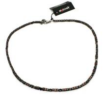 Collar de Plata 925 Pulido con Hematites Satinado Made IN Italy por Varonil image 2