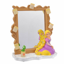 Disney Store Japan Rapunzel & Pascal Figure LED Stand Mirror Lantern Night - $78.21
