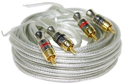 Cadence RCA17P 17' twisted pair technology Reference Metal Split pin RCA cable
