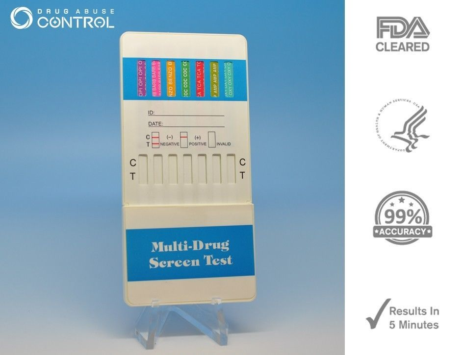 Primary image for 2 Pack 12-panel Home Drug Testing Kit - Test 12 Drugs Instantly - Free Shipping!