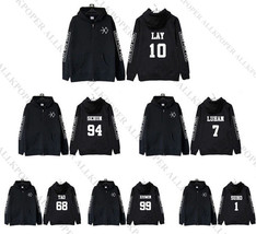Kpop EXO Sing for You Album Zipper Coat Unsiex Chanyeol Coat Jacket Sehu... - $14.10