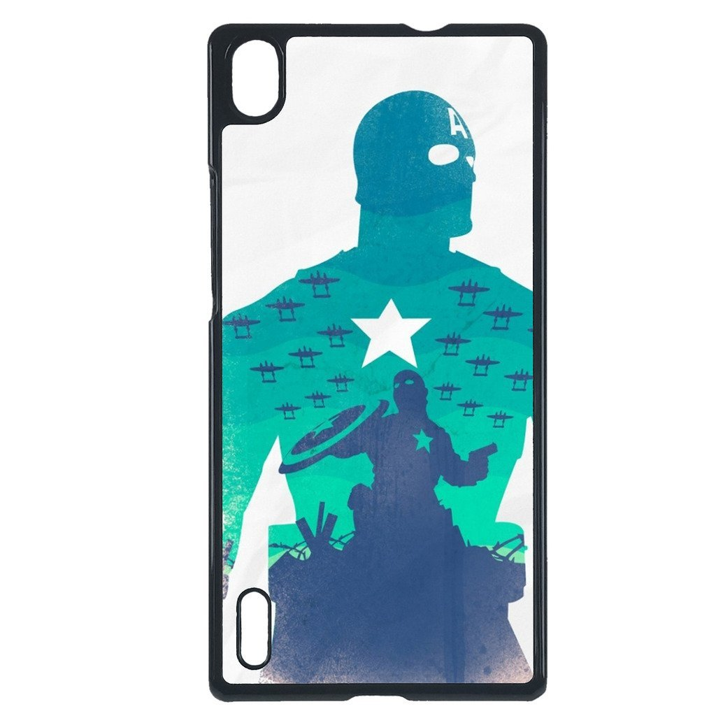 Avengers, Captain America Huawei P7 Mini case Customized premium plastic phone c