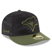 New Era Toronto Blue Jays Memorial Day 59FIFTY Low Profile Fitted Hat Sz... - $29.69