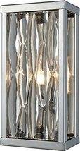 """Elk Lighting 11100/1 Vanity-Lighting-fixtures 10 x 5 x 3"""" Chrome - $160.00"""