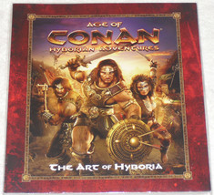 Age of Conan Hyborian Adventures The Art of Hyboria Paperback SC Barbari... - $40.00