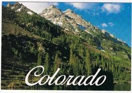 Colorado Postcard Pyramid Peak & Maroon Lake - $2.84