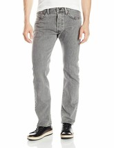 Levi's 501 Men's Original Straight Leg Jeans Button Fly Grey 501-2370 image 1