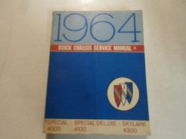 1964 Buick Special Skylark Deluxe Chassis Service Manual MINOR WATER DAMAGE 64 - $19.79