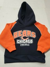 NWT Chicago Bears NFL Sweatshirt Hoodie Youth Infant Toddler 3T New With... - $14.84