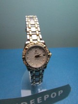 Vintage Concord Ladies Saratoga SL Silver Gold With Diamond Watch 16-36-275 - $2,994.74