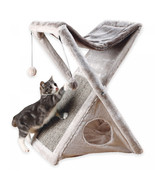 Miguel Fold and Store Cat Tower in Light Grey - $59.52+