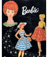 Barbie Doll Travel Case - Vintage Mattel 1964 - $28.90