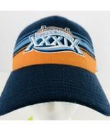 NFL Super Bowl XXXIX 2005 Jacksonville Florida Knit Gold Blue  Baseball ... - $29.69