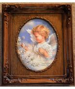 Spring Angel Dona Gelsinger Artist Embellished Limited Edition Canvas Fr... - $127.71