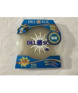 DelSol Flyer Sport Disc - Turns Blue  Sol Flyer New With Box Large Adult... - $14.25