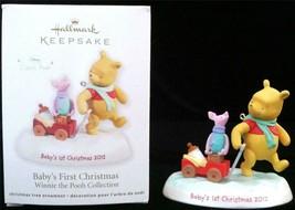 Hallmark Keepsake Ornament Baby's First Christmas 2012 * NEW Winnie the ... - $19.34