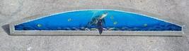 Sea Turtle Over the Door plaque beach art Nautical painting tortoise doo... - £37.64 GBP