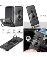 Samsun Galaxy S9 Plus Case Shockproof Cover Ring Holder Kickstand 2 Laye... - $18.81